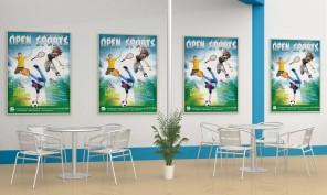 sublimer votre affiche avec Photoshop Open Sport